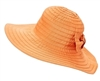 bulk ribbon sun hats - sun protection hats wholesale wide brim womens hats big bow