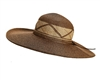 wholesale sun hats wide brim straw hat with criss-cross band