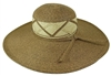 bulk sun hats - wholesale wide brim straw hats criss-cross band