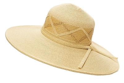 Straw Sun Hats in Bulk - Wholesale Wide Brim Hats with Criss-Cross ... fb7695117eca