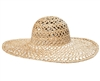 wholesale wide brim sun hats - seagrass straw hats