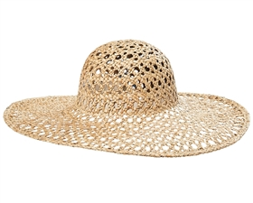 a49f90d72f3 wholesale wide brim sun hats - seagrass straw hats