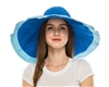 wholesale 2-tone ribbon crusher hat