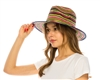 Wholesale Striped Straw Panama Hats