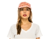 wholesale tiger stripe straw baseball cap