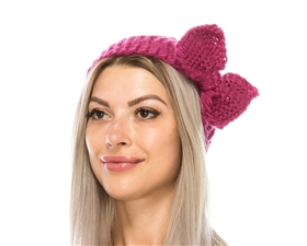 wholesale knit headbands bow