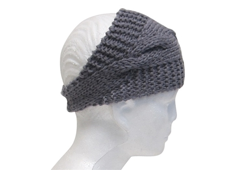 wholesale cable knit gypsy headwrap