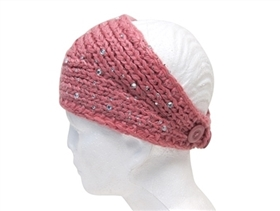 wholesale starry night knit headband