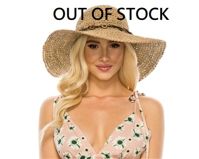wholesale sun hats seagrass crochet hat wide brim with beads 00d041791ba2