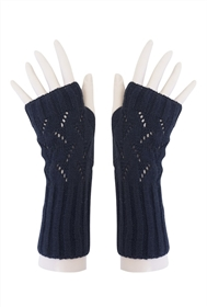 wholesale gloves long peekaboo fingerless