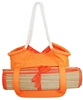 wholesale canvas beach tote  beach mat