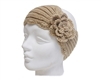 Wholesale Headband Knit with Rosettes
