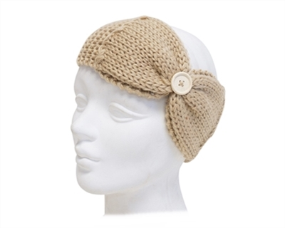 Wholesale Knit Headbands w/ Bow