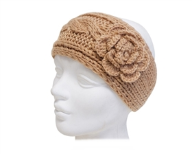 Wholesale Knit Headbands w/ Rosette