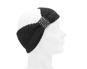 Wholesale Black Headbands Womens Winter Hats
