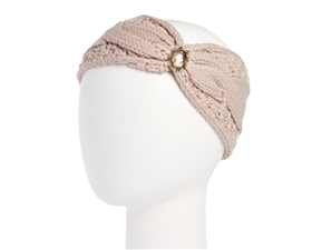 Wholesale Knit Headbands Headbands - with Jewel