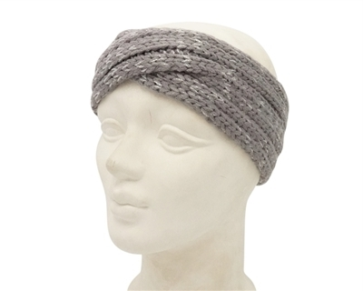 Wholesale Knit Headbands - Lurex