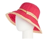 bulk hats - wholesale crusher hat - upf 50 sun protection womens ribbon hat