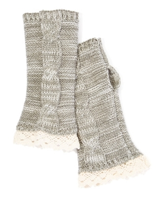 Wholesale Fingerless Gloves with Lace
