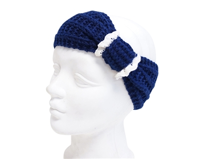 Wholesale Knit Headbands with Lace