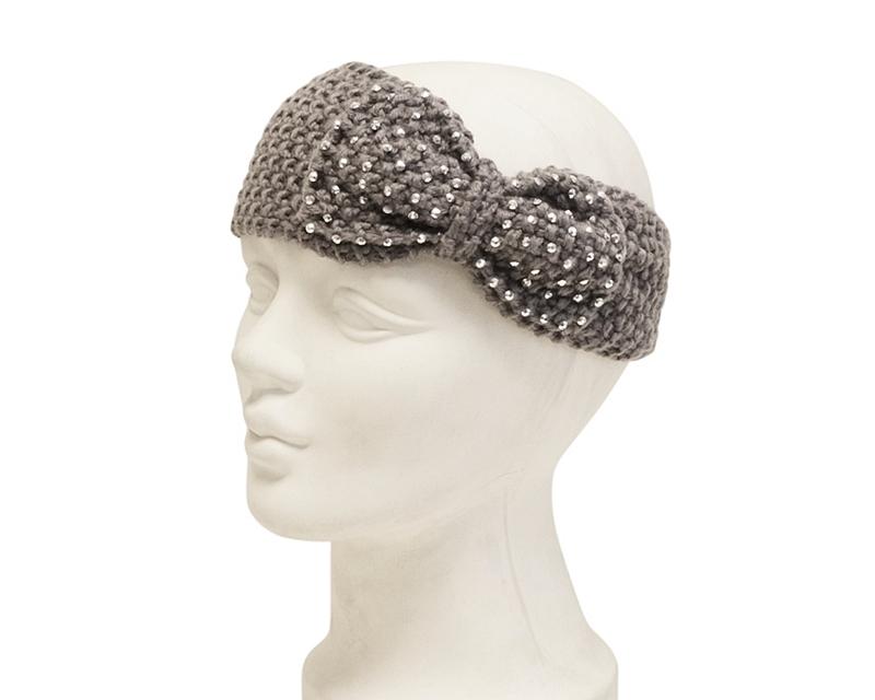 fe675739384 5001-88 Studded Bow Headwrap