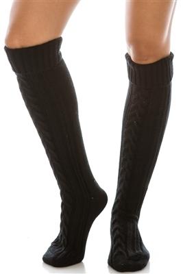 cd6013fbaca25 Sku extra long knit cuffed boot socks jpg 534x800 White knitted boot socks