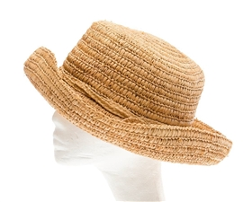 wholesale Natural Raffia Straw Sun Hat