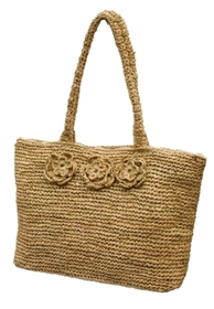 wholesale handwoven raffia beach tote bag