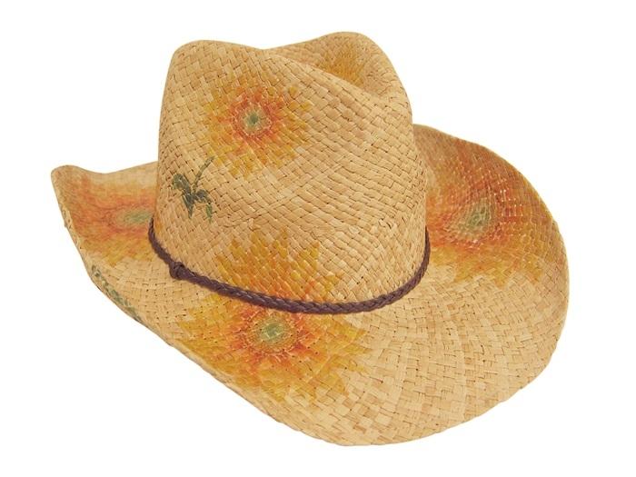 74d3ca2c3decd Bulk Straw Cowboy Hats - Wholesale Raffia Straw Drifter Cowgirl Hat ...