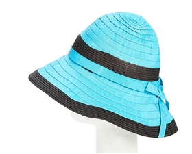 wholesale ribbon-straw bucket hat