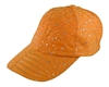 5770 Patterned Sequin Baseball Cap