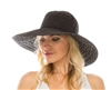 wholesale ribbon crusher hat  polka dot underbrim