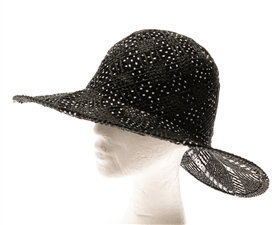 wholesale handwoven straw and ribbon sun hat