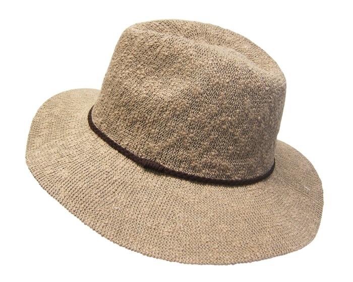 acbe80d51c 589 Nubby Knit Panama Hat