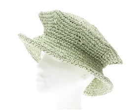wholesale Straw Crochet Beret