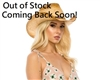 wholesale womens raffia cowboy hat multicolor braid