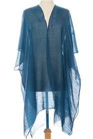 Wholesale Solid Color Summer Kimono