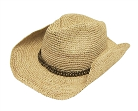 0344c418dec wholesale raffia straw cowboy hats womens mens