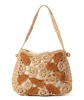 wholesale raffia crochet purse