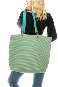 wholesale large striped beach bags - womens beach totes