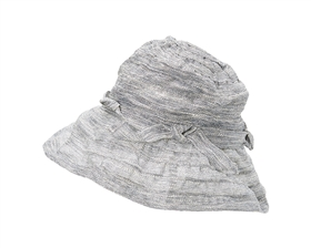 wholesale church hats - fancy dress lurex kettle hat