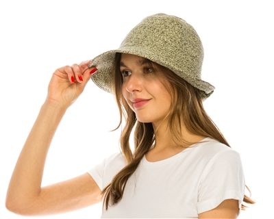 wholesale fedora hats - shapeable artsy spring-summer hat