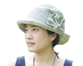 wholesale shapeable artsy bucket hat