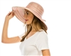 wholesale space dyed pastel lampshade hat