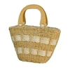 wholesale open top straw purses