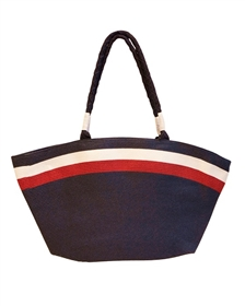 wholesale red white blue beach bag