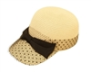 wholesale fashion baseball cap with netting and bow