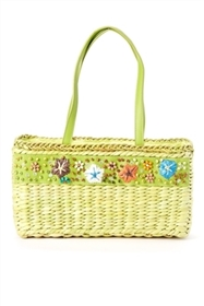 wholesale straw bags seashells womens summer handbags purses