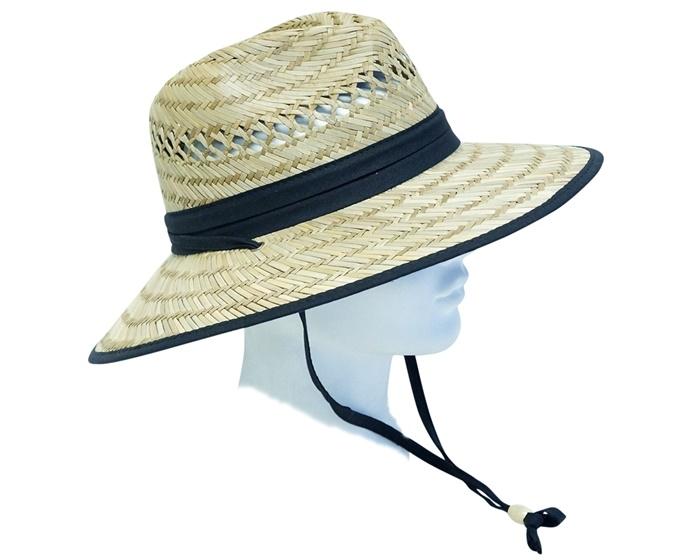 49ca267ab87 wholesale rush straw lifeguard hats men women unisex