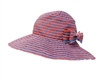 Wholesale Ribbon Sun Hat Denim Crusher